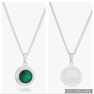 Halos & Glories May Birth Month Pendant Necklace